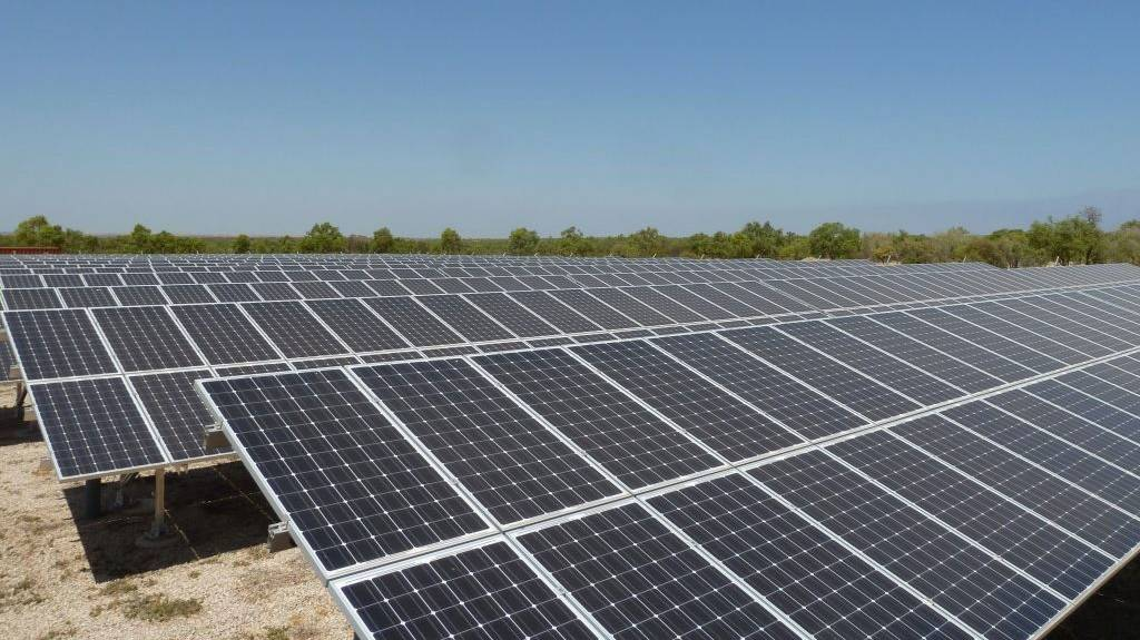 SOLAR PLANS: The Territory Labor Government has set a target of 50 per cent renewable energy by 2030. Picture: NT Government.