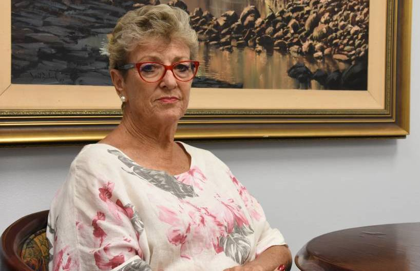 Mayor Fay Miller has chosen to take a pay cut as council moves towards a rates freeze.