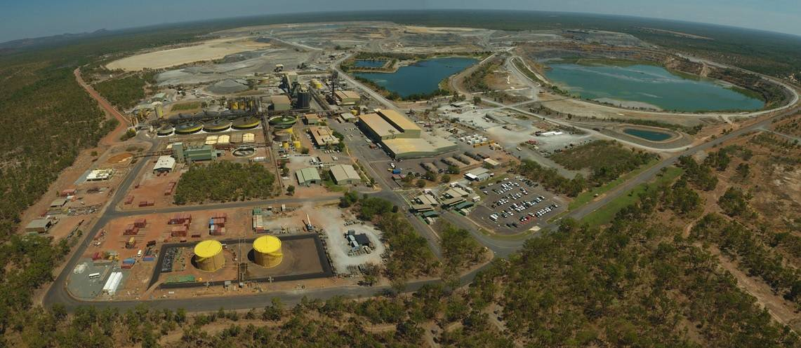 The sprawling Ranger uranium mine in the Northern Territory, dangerously tucked inside the world famous Kakadu National Park. Picture: Energy Resources Australia.