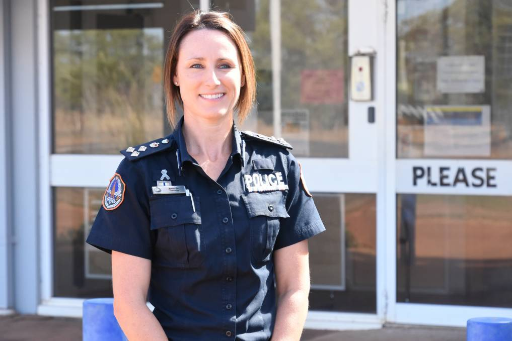 Commander Janelle Tonkin said there had been a rise in the number of reported assaults across Katherine.