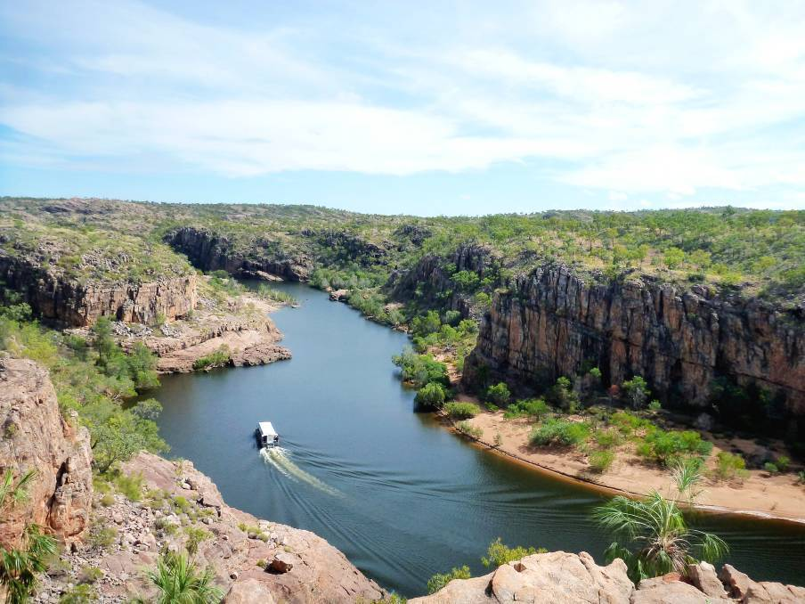 Nitmiluk Gorge is the main tourist attraction in Katherine.