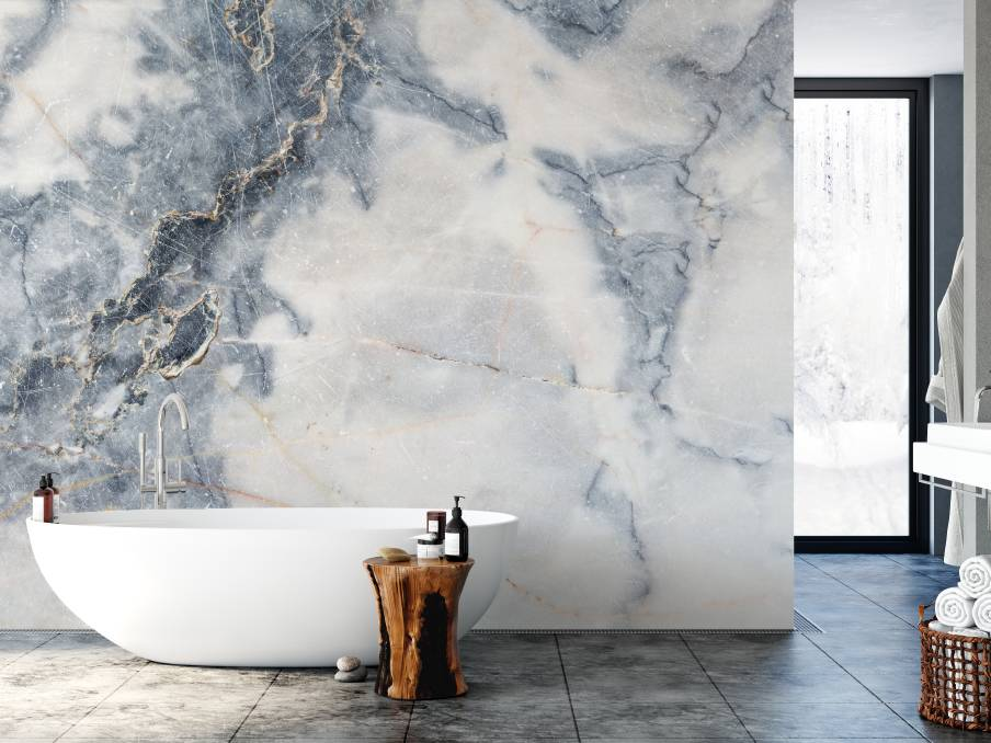 Marble removable wallpaper, from wallstickercompany.com.au.