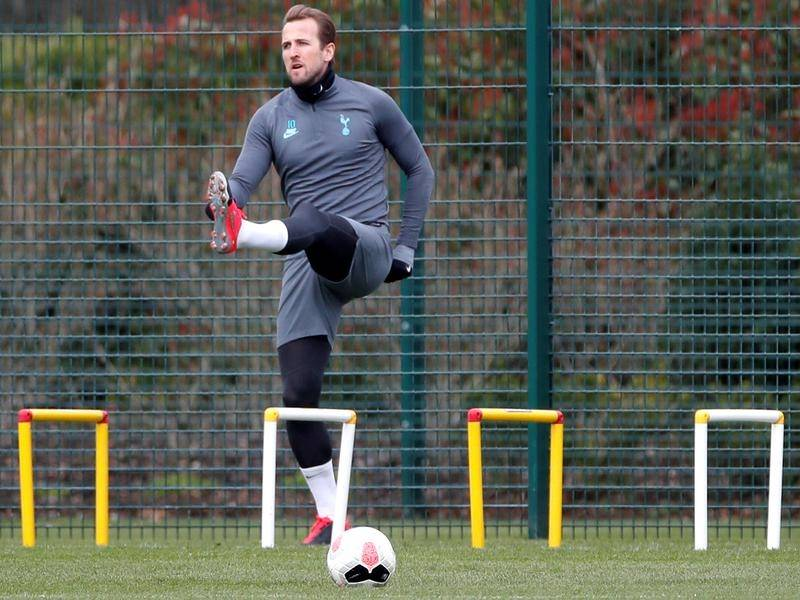 Tottenham striker Harry Kane expects to be fit when Premier League action resumes.