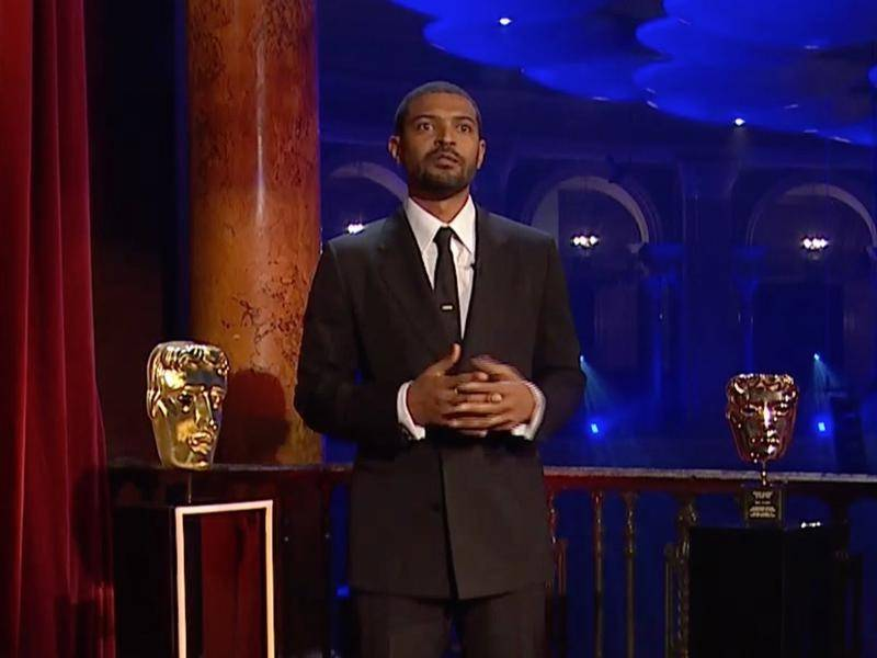 Actor Noel Clarke received the outstanding British contribution to cinema award.