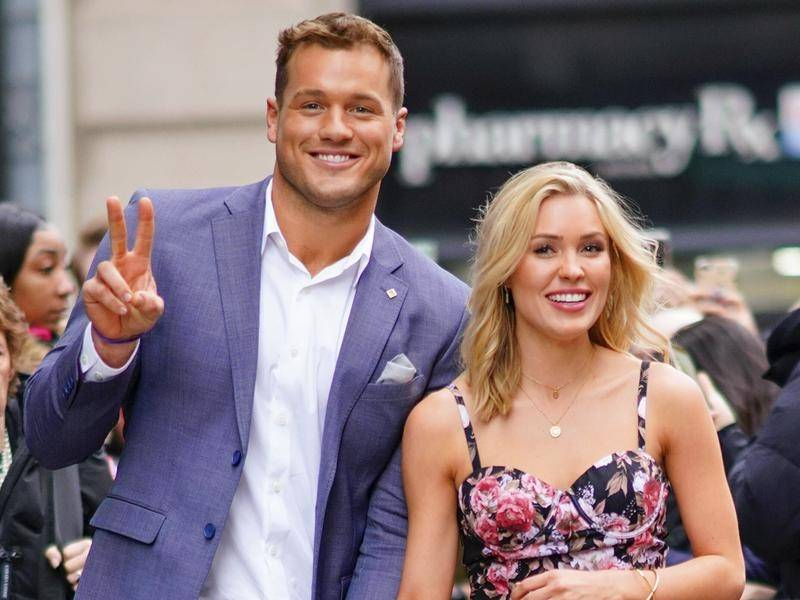 The Bachelor's Colton Underwood, pictured with Cassie Randolph, has come out as gay.