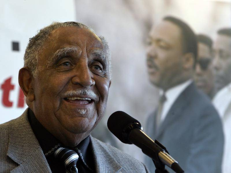 US Civil Rights veteran Reverend Joseph E Lowery has died at 98.