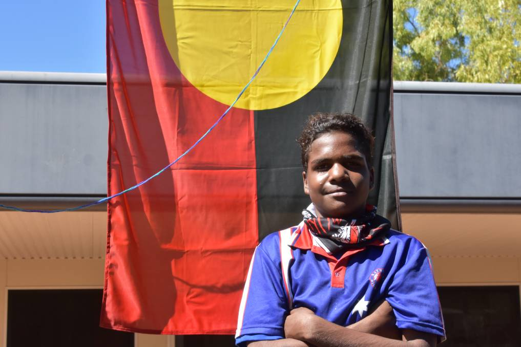 Year Nine student Lathen Anderson says Reconciliation means mixed emotions for him and his Indigenous peers.